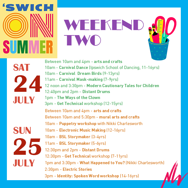 What's On: 'Swich On Summer Weekend Two